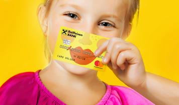 Детские банковские карты